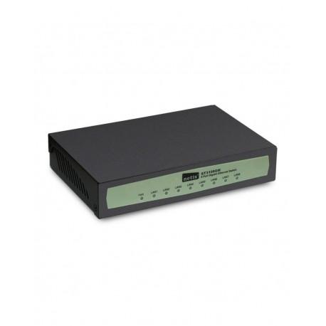 NETIS ST3105GM - Switch Giga Ethernet 10/100/1000 Mbps 5 puertos y carcasa metálica sobremesa