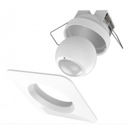 Philio Outdoor Motion Sensor with square recessed frame