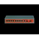 Switch Wi-Tek WI-PMS310GF PoE 8 GIGABIT + 2 SFP GERENCIÁVEL