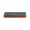 Wi-Tek WI-PMS310GF switch PoE 8 GIGABIT + 2 SFP MANAGABLE