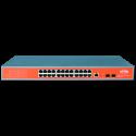 Comutador Wi-Tek WI-PMS326GF PoE gerenciável 24 portas GIGABIT + 2 SFP