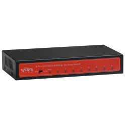 Wi-Tek WI-SG108 switch 8 ports GIGABIT metal desktop with V-LAN