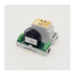 Eutonomy - Adaptador carril DIN euFIX S223 con botones