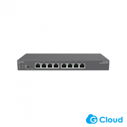 EnGenius ECS1008P Switch Managed Cloud and L2 8-Port Gigabit 55W