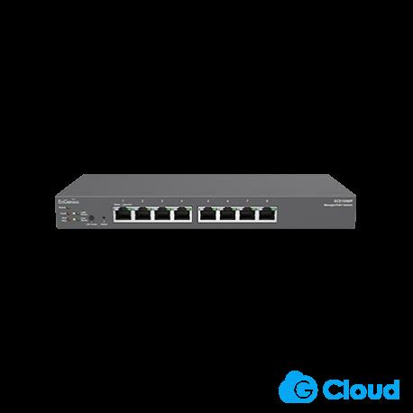 Cloud Managed 8-Port Gigabit 55W PoE Switch