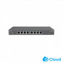 EnGenius ECS1008P Switch Managed Cloud and L2 8-Port Gigabit 55W