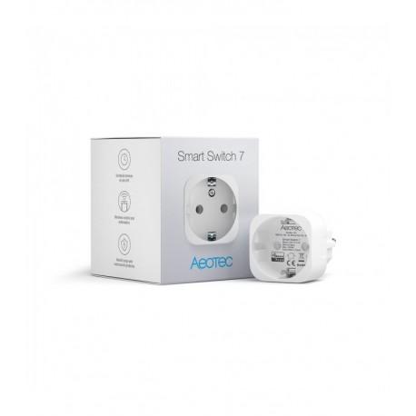 Aeotec Smart Switch 7 - Enchufe On-Off Z-Wave Plus con medidor de consumo