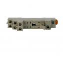 Zocalo Omron P2RF-08-E de 2 contactos carril DIN