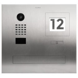 DoorBird D2101FPBI Built-in IP video intercom with integrated mailbox