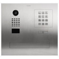 DoorBird D2101FPBK Videoportero IP para unifamiliares con buzon integrado