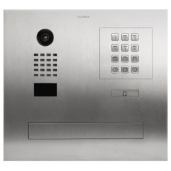 DoorBird D2101FPBK IP video intercom for single family with integrated mailbox