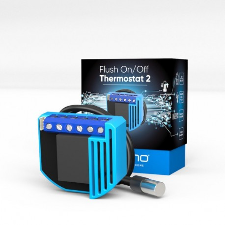 Qubino Flush On/Off Thermostat 2 - micromódulo termostato Z-Wave+