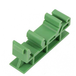 Adapter bracket for mounting on DIN rail