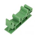 Soporte adaptador para montaje embridado en Carril DIN