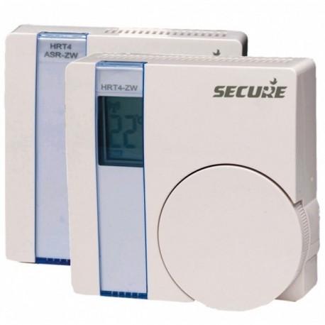 Kit de termostato e atuador LCD SECURE SRT322, ambos com tecnologia Z-Wave Plus (GEN5)