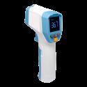 Termómetro de infrarrojos sin contacto (aviso sonoro y luminoso)
