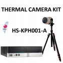 HiSharp HS-KPH001-A Thermal Camera Kit, IA Server, Tripod and Wiring for Body Temperature Measurement