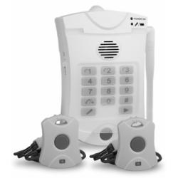 Marcador telefónico con botón de pánico pulsador emergencia Konig