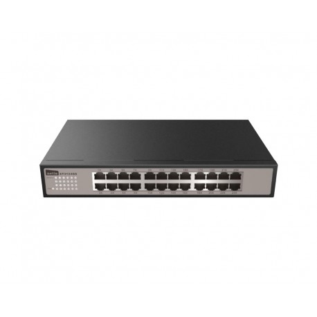 "Netis ST3124GS Switch 24 puertos gigabit 13"" con soportes para Rack"