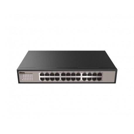 "Netis ST3124GS Switch 24 puertos gigabit 13"" con soportes para Rack"