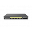EnGenius ECS2512FP 8-Port 2.5G Base-T 240W PoE ++ Network Switch with Cloud Management