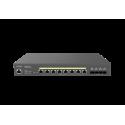 EnGenius ECS2512FP Switch de red PoE ++ de 8 puertos 2.5G Base-T 240W con Gestión Cloud