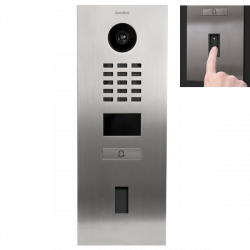 DoorBird D2101FV EKEY Recessed IP video door phone prepared for Home FS UP I fingerprint reader