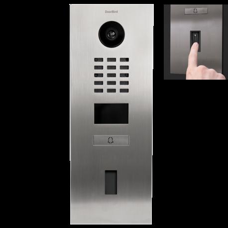 DoorBird D2101FV EKEY Videoportero IP empotrable preparado para lector de huella dactilar Home FS UP I