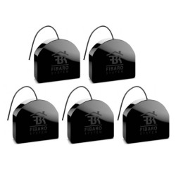 Pack 5 x micromódulos Fibaro Z-Wave