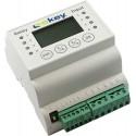 ekey home CP DRM 1 unidade Painel de controle para montagem em trilho DIN 1 relé
