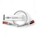 INTELINET - Patch cord RJ45 Cat6 UTP 0,25m cinza
