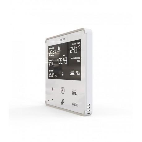 HELTUN Termostato Z-Wave para calefacción eléctrica (Blanco)