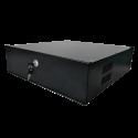 Caja fuerte especial para videograbador. Cierre con llave. 350 ancho