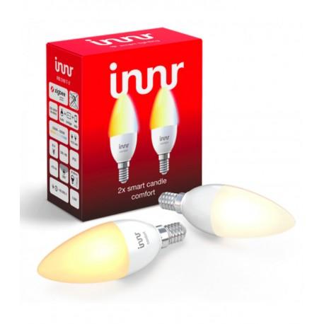 INNR - Pack de bombillas ZigBee 3.0 tipo E14 - Multi-blanco ajustable - 2200K a 5000K