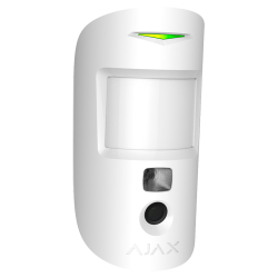 AJAX MotionCam - Motion detector with camera to verify alarms