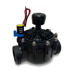 "LATCH 9V DC 2"" 2-way solenoid valve with flow control"
