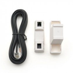 Fixe o sensor de temperatura digital SES003 para tubo ou tanque (cabo de 4 m)
