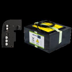 Kit de bateria autônoma AJAX para painel de controle HUB2