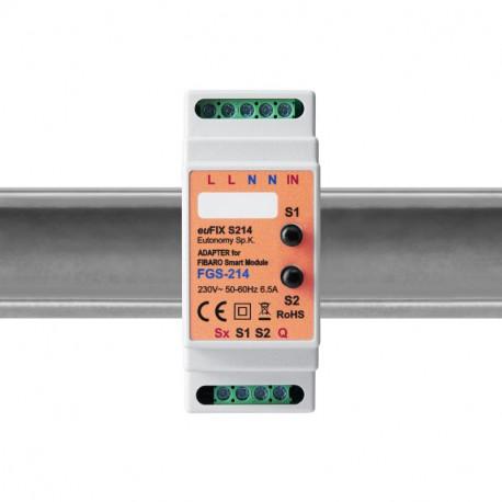 Eutonomy - Adaptador carril DIN euFIX S214
