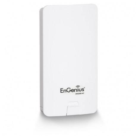 EnGenius ENS500-ACv2 AP/CPE/Bridge Exterior IP55 802.11a/n/ac Wave2 900 Mbps, 2 LAN 10/100/1000, 1 PoE Pasivo 24 V Incluido