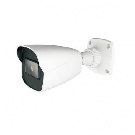 HISHARP HS-T057SM Cámara IP 4 Mp, compresión H.265/H.264, Lente 3.6 mm, PoE, IR Led 20-30 M, IP67, formato Bullet