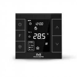 MCO Home - Termostato MH7 NEGRO para calefacción por agua caliente (Version 2)