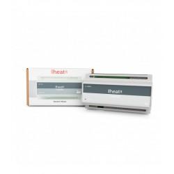 Heatit Z-WATER Z-Wave + Módulo de controle de trilho DIN para aquecimento hidráulico 10 saídas