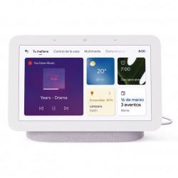 Google Nest Hub (2ª Generación) color Tiza (Chalk)