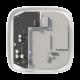 Ajax DC12V-PCB1 Módulo de alimentación