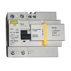 Interruptor Diferencial Rearmable Tetrapolar 300 mA 40A