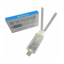 RF Player Universal Radio Transceiver - 433 and 868 Mhz multi-frequency two-way radio interface