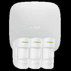 AJAX Kit de alarma profesional HUBKIT-PRO: Central y 3 detectores de movimiento
