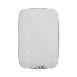 Ajax KeyPad Plus - Wireless touch keyboard compatible with contactless encrypted cards and key fobs