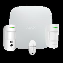 Kit Alarma Ajax StarterKit-CAM-MP Ajax Hub 2, 1 PIRCAM, 1 detector PIR y 1 mando